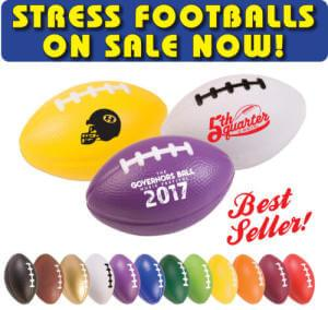 Stress Footballs on Sale!