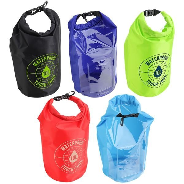 Main Product Image for 10-Liter Waterproof Gear Bag With Touch-Thru Pouch