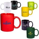 Buy 11 oz. Basic C Handle Ceramic Mug - Colors