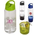 Buy Sports Bottle AS Plastic Water Bottle w/ Detachable Cup 20 oz