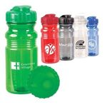Buy Water Bottle Translucent Sport w/ Snap Cap 20 oz