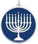 "3"" Sun Catcher - Hanukkah"