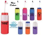 Buy Sports Bottle Color Changing with Flexible Straw 32 oz