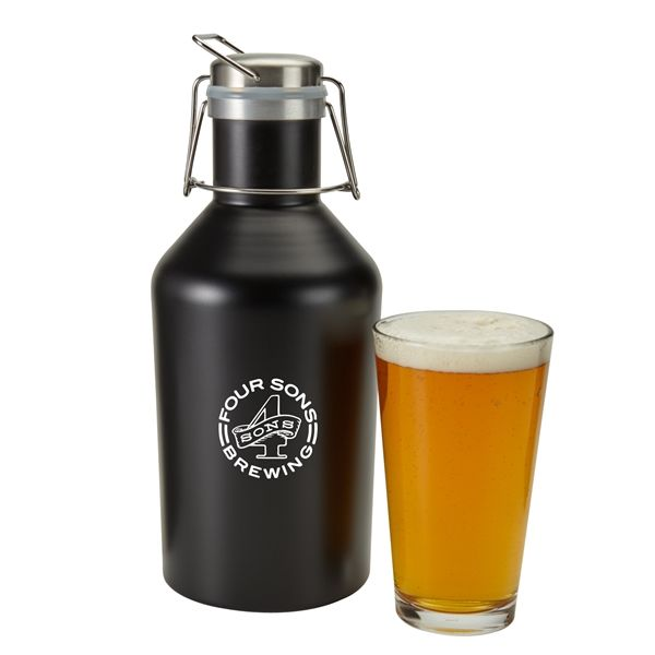 Main Product Image for 64 Oz. Stainless Steel Growler