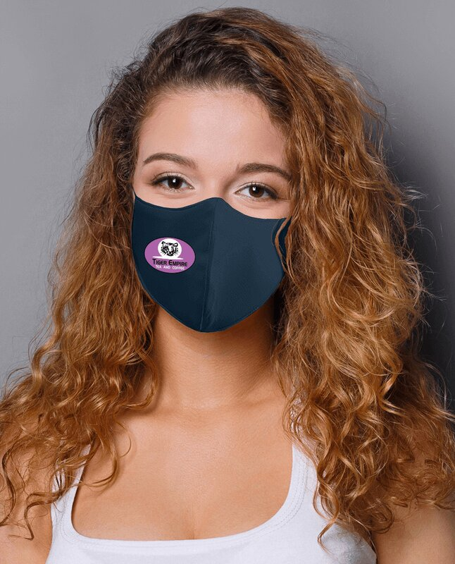Main Product Image for Adult Anti-Bacterial Woven Fabric Face Mask - STAFF PICK