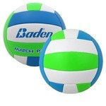Camp Volleyball Baden  - Cyan/Lime Green/White
