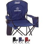 Buy Custom Imprinted Coleman (R) Oversized Cooler Quad Chair
