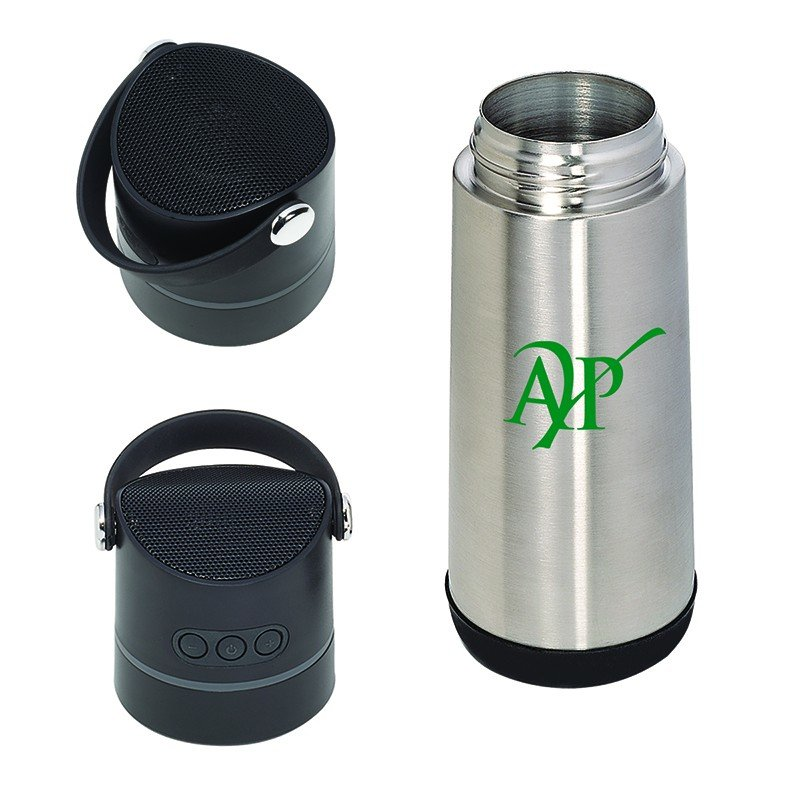 Main Product Image for THERMOS VACUUM BOTTLE WIRELESS SPEAKER 16 oz