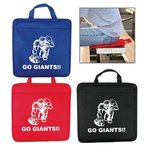 Custom Imprinted Nonwoven Stadium Cushion -