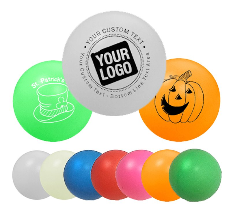 Custom ping pong balls with your logo for Small ping pong balls