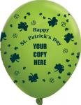 Buy Custom St. Patricks Day Balloons USA MADE