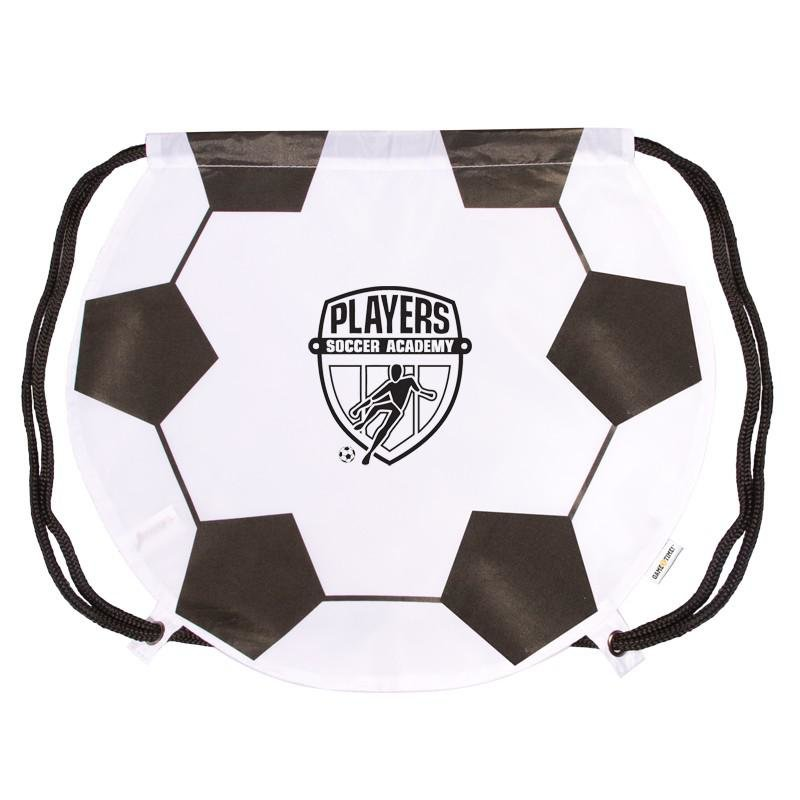 Main Product Image for Custom Imprinted Drawstring Backpack - Soccer
