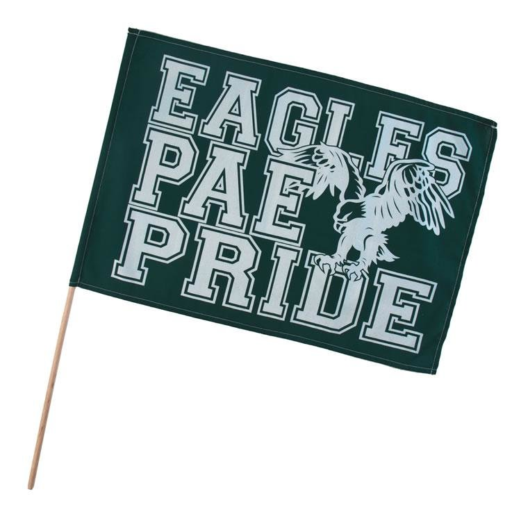 Main Product Image for Custom Imprinted Fan Waving Flags