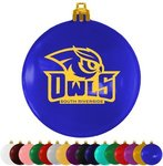 Buy Personalized Custom Ornaments Flat Fundraising Shatterproof