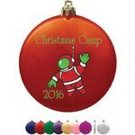 Buy Personalized Ornament Flat Satin Finish Shatterproof