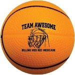 "Buy Foam Nerf Style Basketballs - 4"" Mini"