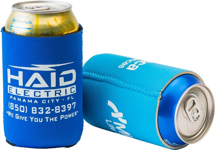 Neoprene Can Cooler For Fabric ~ Foamzone neoprene collapsible can cooler with your logo