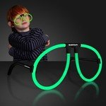 Buy Glasses Neon Green Glow