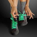 Buy Green Shoelaces - Glow In The Dark