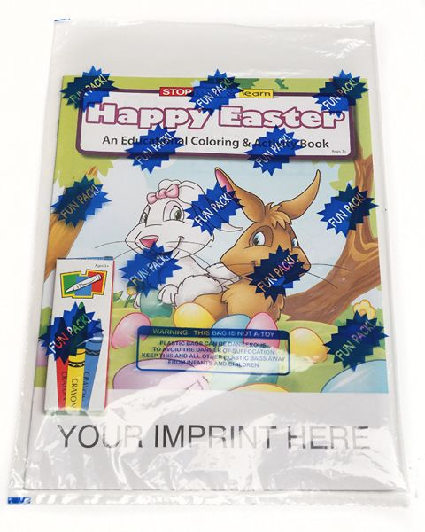 Main Product Image for Happy Easter Coloring Book Fun Pack