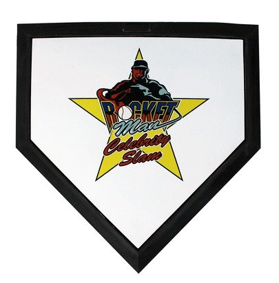 Main Product Image for Imprinted Full Size Baseball Homeplate