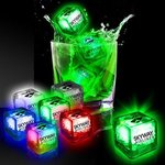 Buy Light Up Ice Cubes Imprinted Liquid Activated