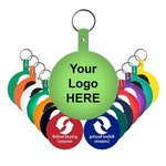 Buy Large Circle Flexible Key Tag