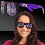 Buy Custom Sunglasses Mardi Gras Purple