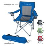 Buy Mesh Folding Chair With Carrying Bag