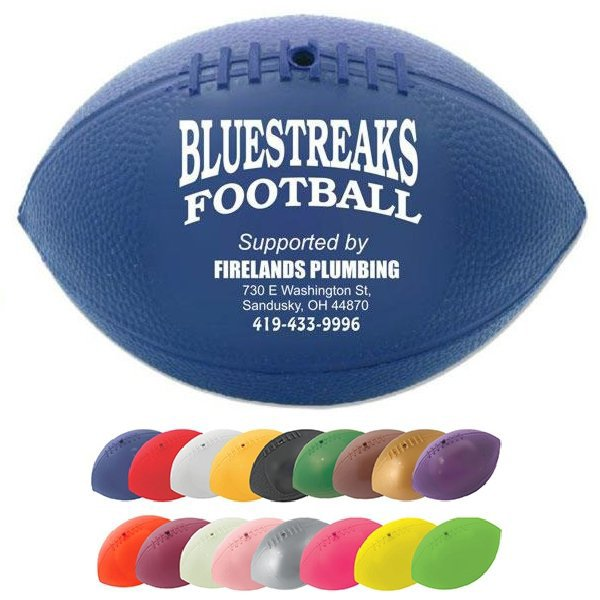 Main Product Image for Mini Throw Football Soft Vinyl  7""