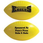 "Mini Football Plastic 6"" Two Sided Imprint -"