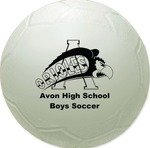 Mini Throw  Vinyl Soccer Ball - 4.5