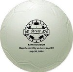 "Mini Throw  Vinyl Soccer Ball - 4.5"" -"