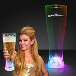 Buy Light Up Beer Glass Pilsner Tall Flashing Multicolor