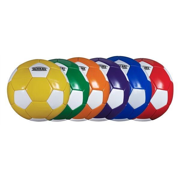Main Product Image for Printed Size 5 32 panel colored soccer ball