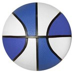 Rubber Basketball - Full Size -   Blue Side