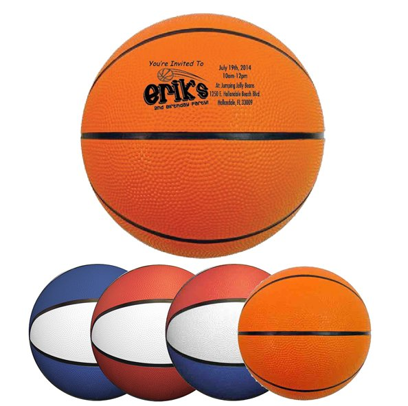Main Product Image for Rubber Basketball - Full Size