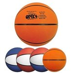 Rubber Basketball - Full Size - Primary