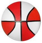 Rubber Basketball - Full Size -  Red Side