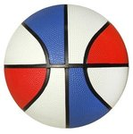 Rubber Basketball - Full Size -   RWB Side