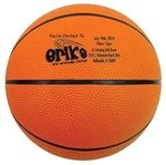 Rubber Basketball - Full Size -