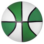 Rubber Basketball - Mini Size - Green Side