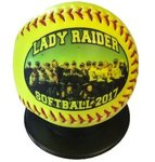 Buy Softball Official Sized with Full Color Process Photo or Logo