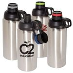 Buy Sports Bottle Double Wall Stainless Steel Vacuum 33 oz
