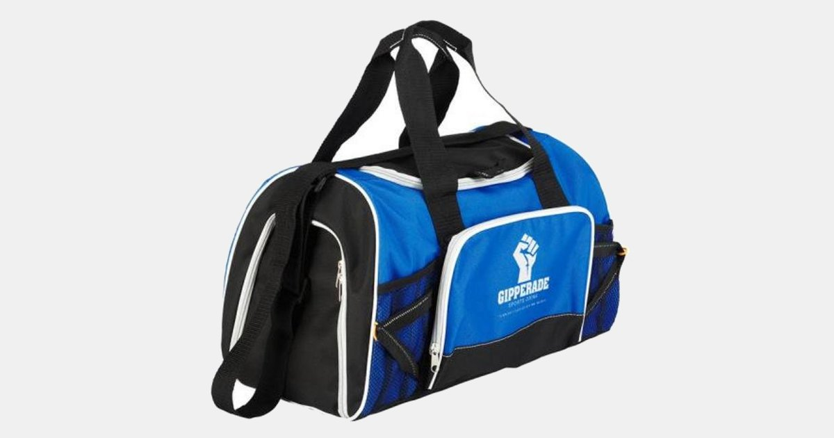 Custom Imprinted Duffel Bag for Sports c495bb215630a