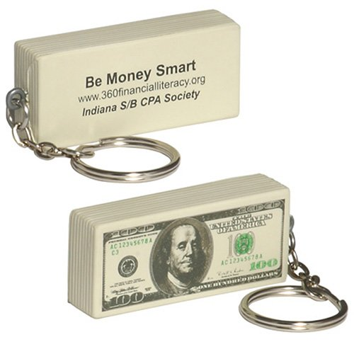 Main Product Image for Stress Reliever Key Chain - $100 Bill
