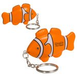 Buy Stress Reliever Clown Fish Key Chain