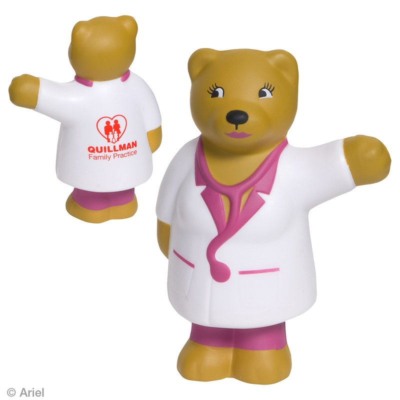 Main Product Image for Stress Reliever Nurse Bear