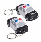 Buy Stress Police Car Key Chain