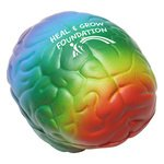 Buy Stress Reliever Brain - Rainbow Coloured